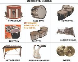 Berbagai Jenis Peralatan Pada Drumband
